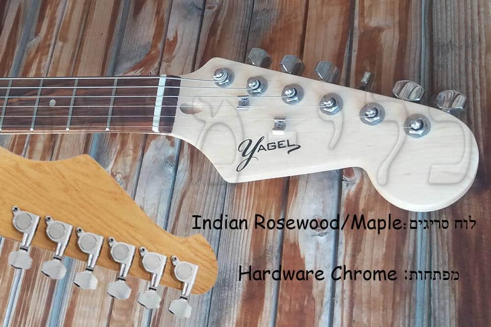 YAGEL GUITAR - גיטרה חשמלית - מפתחות כיוון