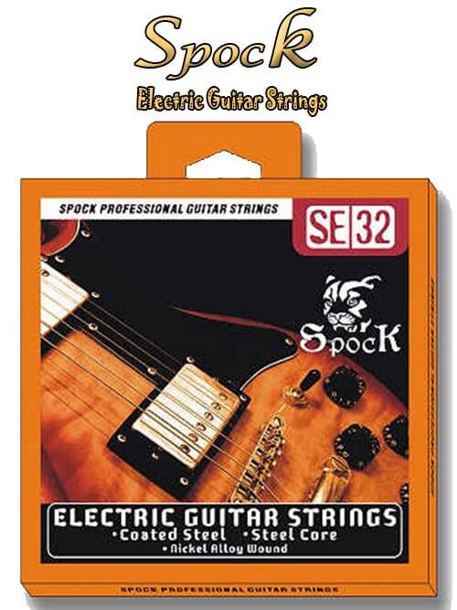 מיתרים לגיטרה חשמלית Spock-SE32