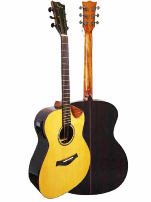 גיטרה אקוסטית מוגברת Virginia ELMSE02-AC