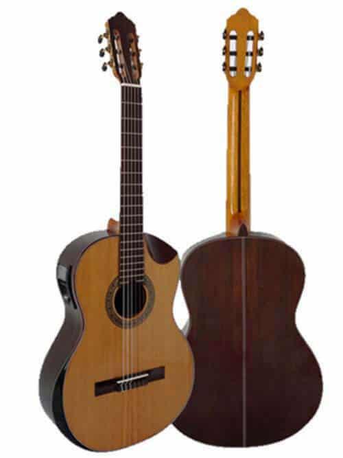גיטרה קלאסית מוגברת Rozanez ELPE02-AC
