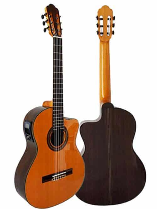 גיטרה קלאסית מוגברת Rozanez