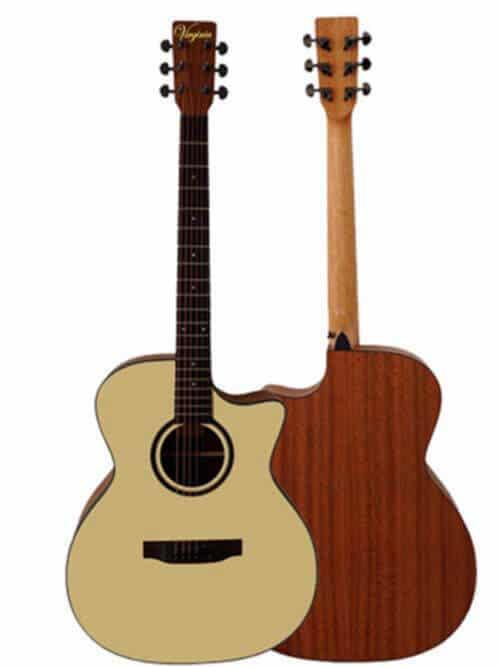 גיטרה אקוסטית-Virginia EL01-AC