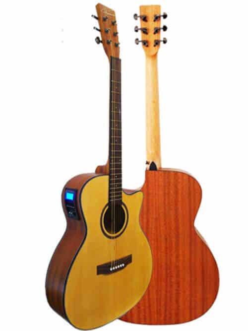 גיטרה אקוסטית מוגברת Virginia ELO1E-AC