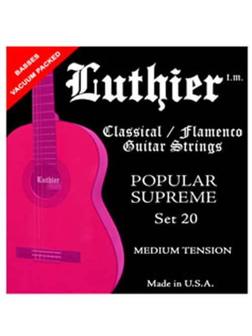 מיתרי גיטרה - Luthier 20 – מתח בינוני