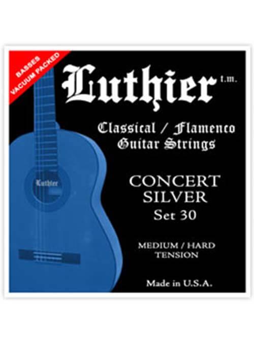 מיתרי גיטרה - Luthier 30 – מתח בינוני גבוהה