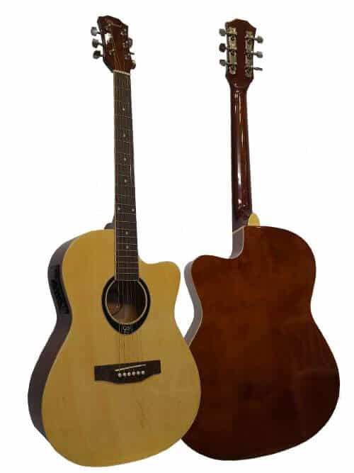 גיטרה אקוסטית מוגברת
