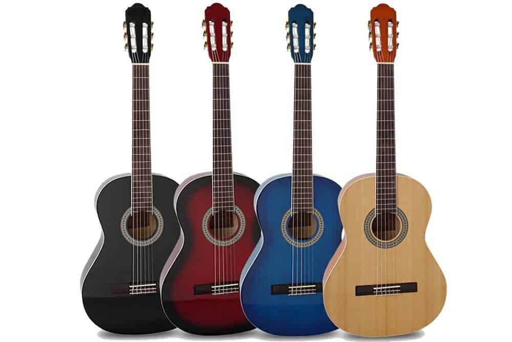 גיטרה קלאסית-Malaguena TL - הצבעים של הגיטרה