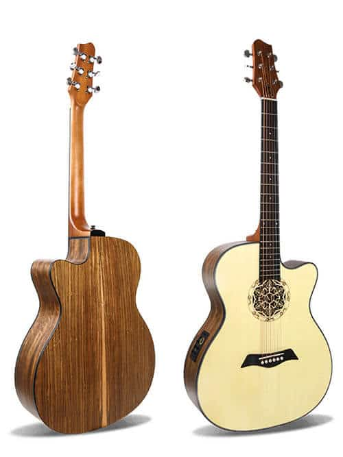 גיטרה אקוסטית מוגברת - Smiger LG-07