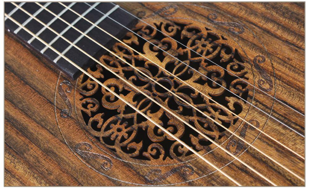 גיטרה אקוסטית מוגברת - Smiger LG-09 - פי התהודה