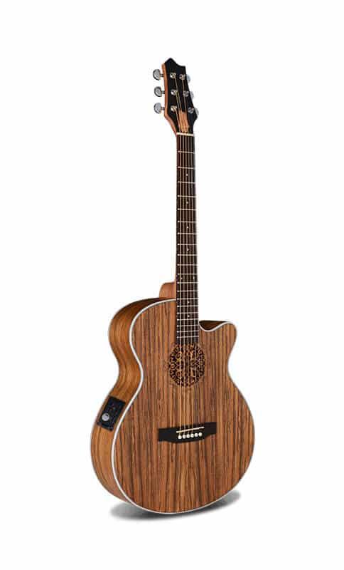 גיטרה אקוסטית מוגברת - Smiger LG-09 - קדימה