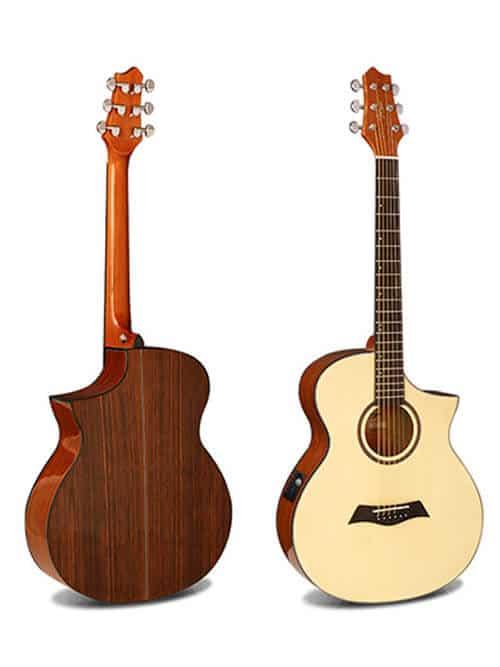 גיטרה אקוסטית מוגברת - smiger FN-30