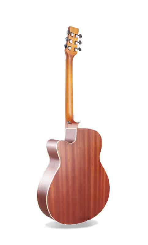 גיטרה אקוסטית - Smiger GA-401- גב
