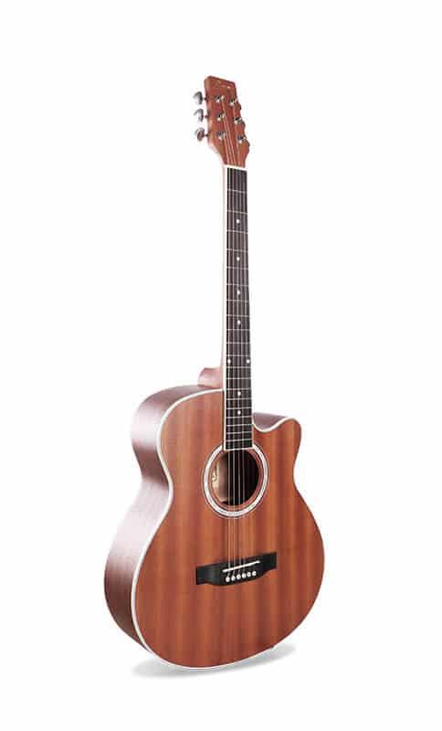 גיטרה אקוסטית - Smiger GA-401- טופ ולוח סריגים