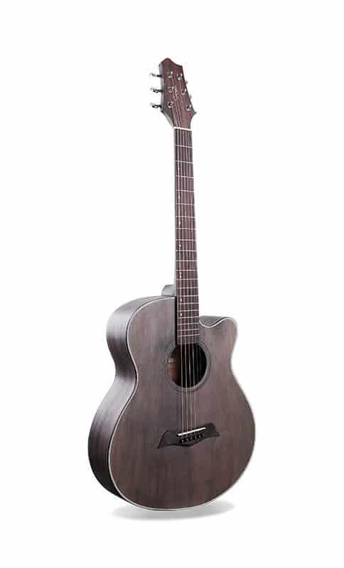 החלק הקדמי של הגיטרה