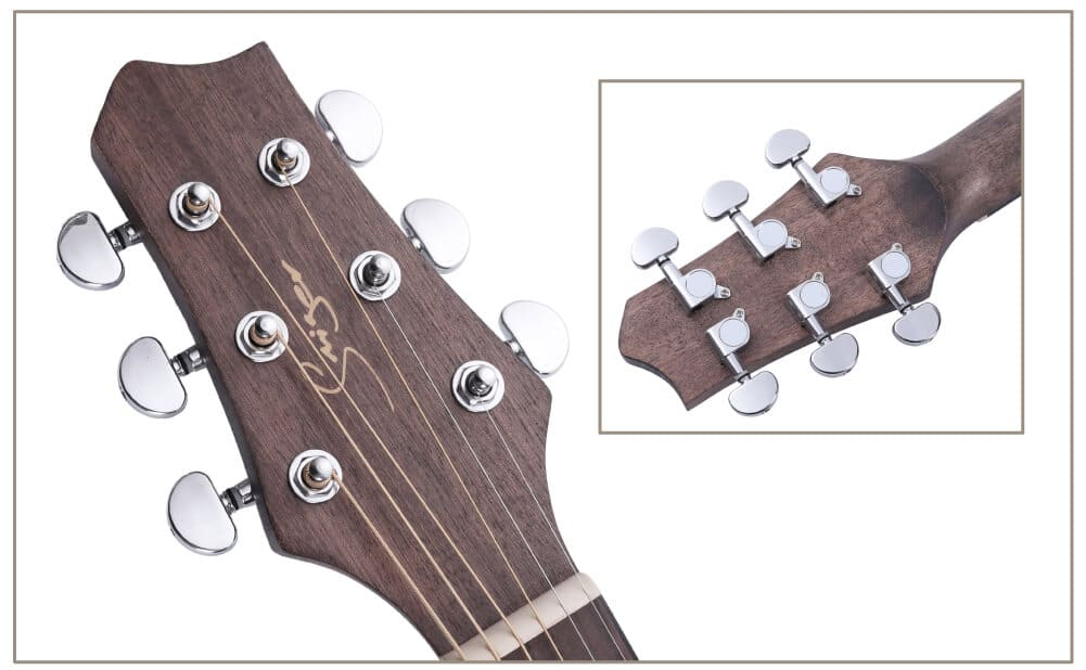 מפתחות הכיוון של הגיטרה