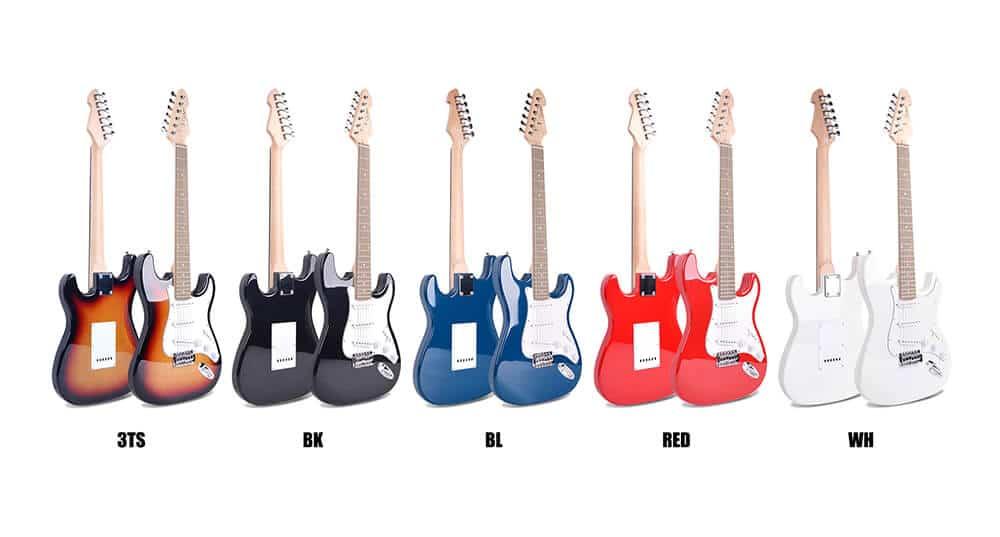 גיטרה חשמלית smiger -L G1 ST - כל הדגמים מקדימה ואחורה