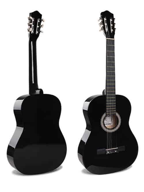 גיטרה למתחילים - Malaguena AC -17 BK