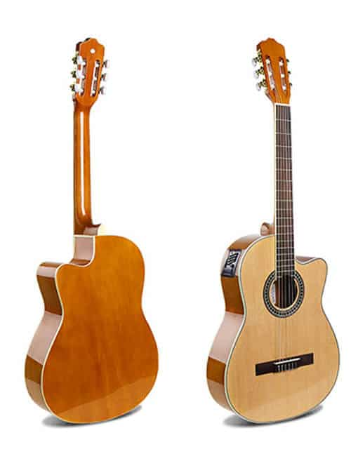 גיטרה קלאסית מוגברת -EC-18 N- malaguena