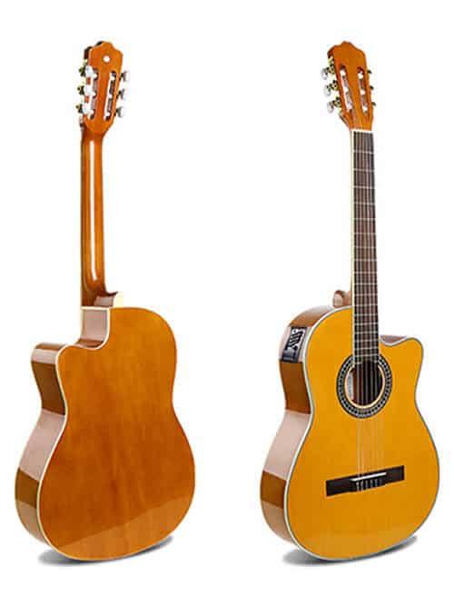 גיטרה קלאסית מוגברת -EC-18 NY- malaguena