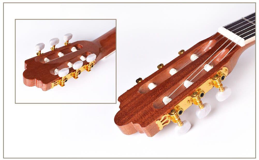 גיטרה קלאסית מוגברת - granadinas - YC -101- מפתחות כיוון
