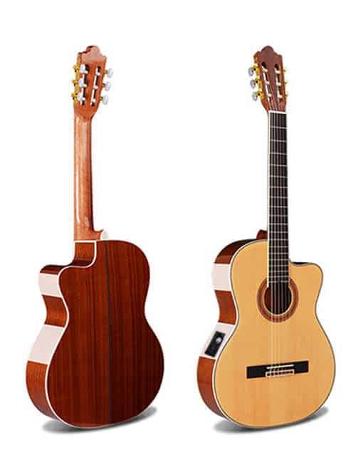 גיטרה קלאסית מוגברת - granadinas - YC -101