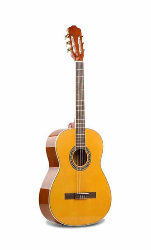 גיטרה קלאסית -EC-18-NY malaguena - החלק הקדמי של הגיטרה