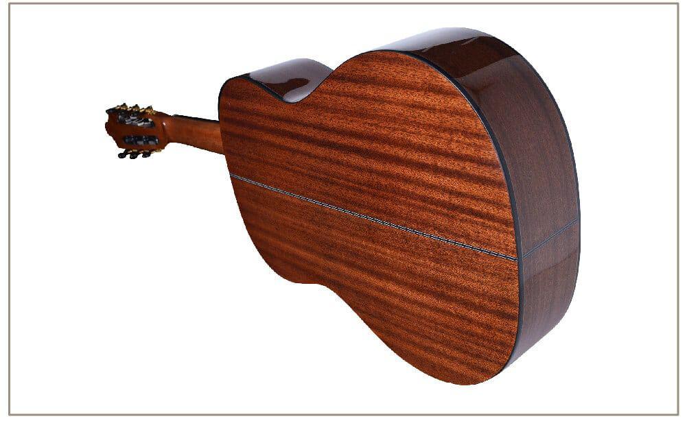 גיטרה קלאסית - Rozanez AC-118 - גב וצדדים