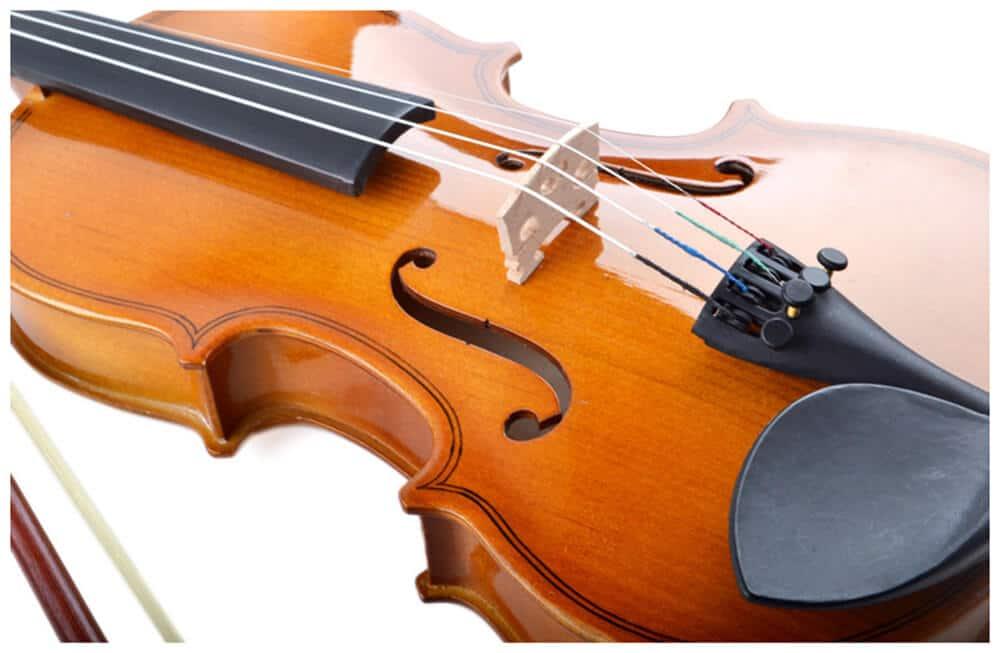משענת וגשר של הכינור