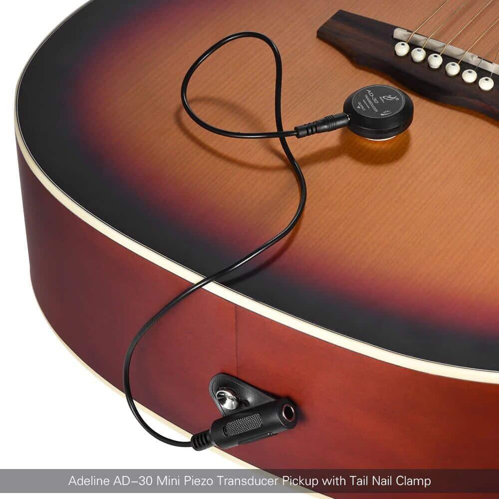 פיק אפ לגיטרה -AD-35 - תופסן מיוחד לכבל