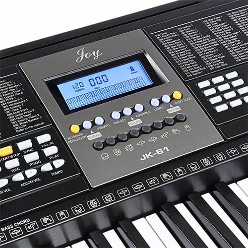 אורגנית 5 אוקטבות Joy Keyboard JK61-מסך LCD