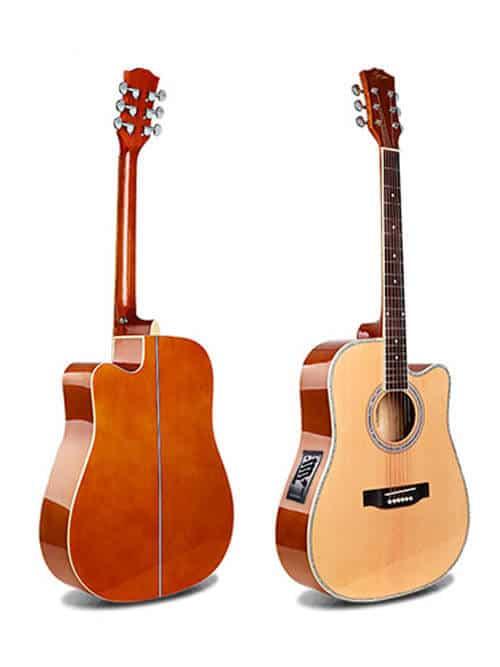גיטרה אקוסטית מוגברת למתחילים Smiger -GA-H61-N