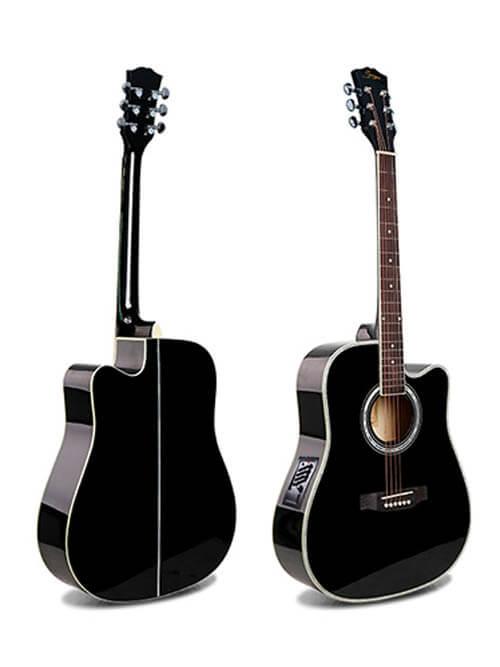 גיטרה אקוסטית מוגברת למתחילים Smiger-GA-H61-VK