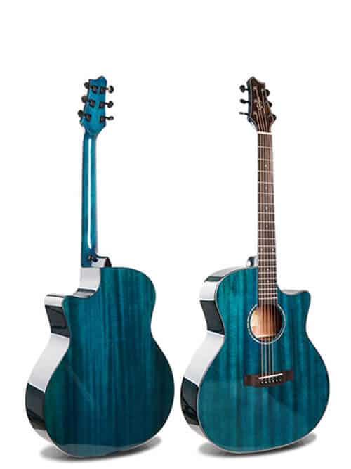 גיטרה אקוסטית סוליד טופ Smiger- M-D10S-BL