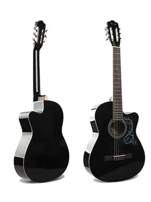 גיטרה קלאסית למתחילים – Malaguena AC17C- BK