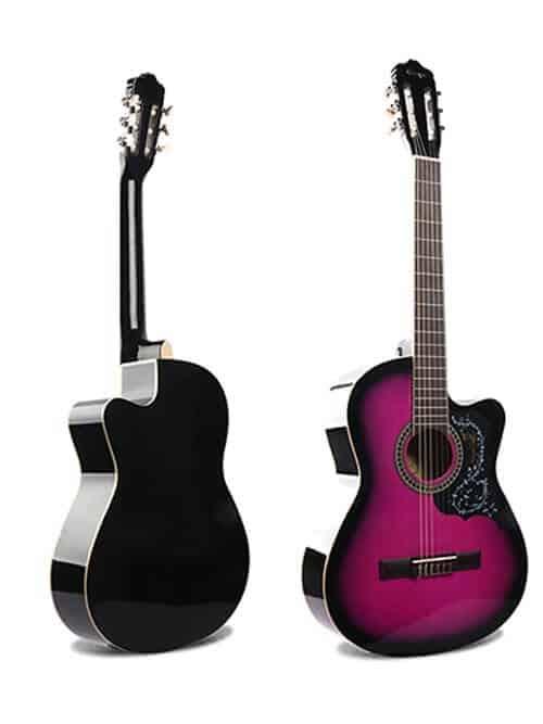 גיטרה קלאסית למתחילים – Malaguena AC -17C-PR