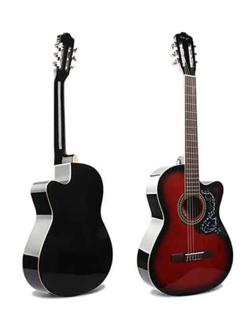 גיטרה קלאסית למתחילים – Malaguena AC -17C-RD