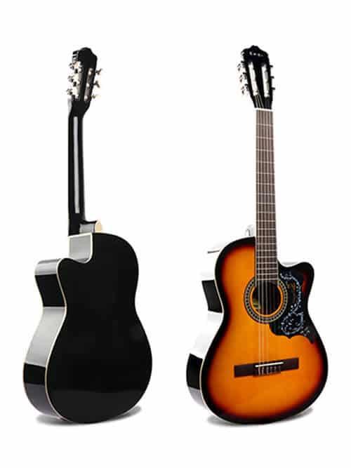 גיטרה קלאסית למתחילים – Malaguena AC -17C SB