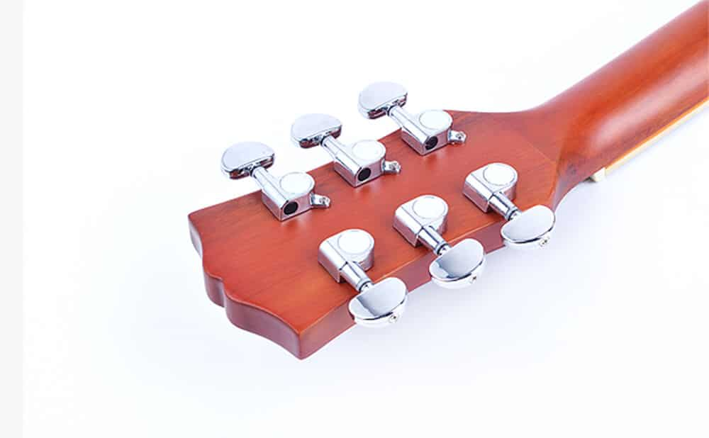 לוח מפתחות מהגוני ומפתחות כיוון כרום של היוקלילי