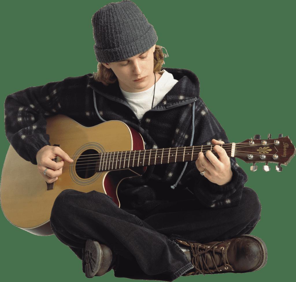 כלי-מיתר - גיטרה אקוסטית למתחילים