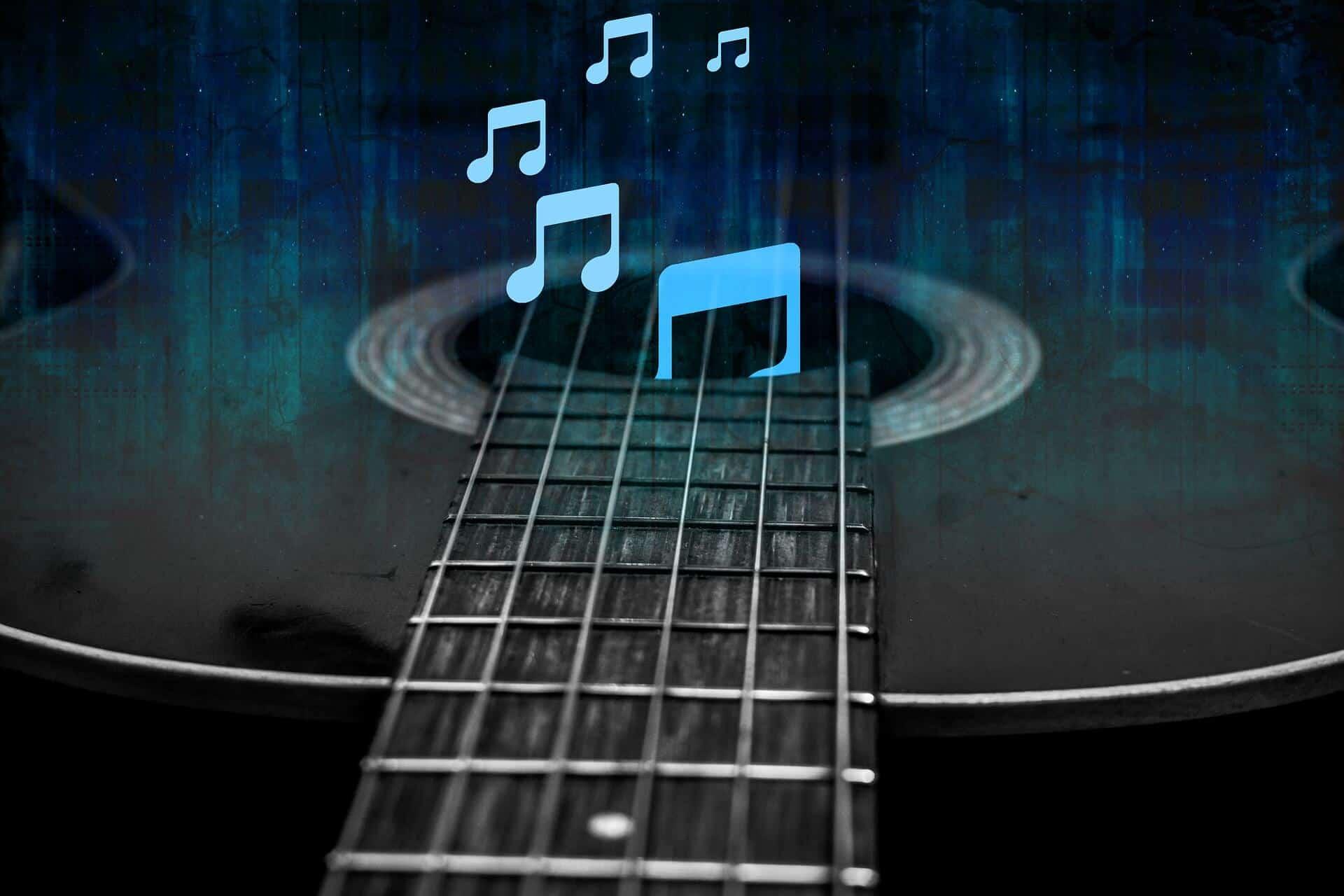 חמישה טיפים לקניית גיטרה- גיטרה מעץ אקוסטי